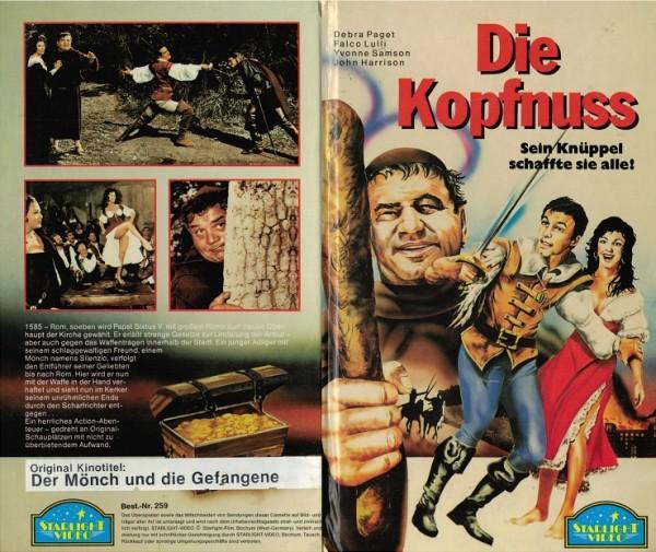 Kopfnuss, Die - Der Mönch und die Gefangene (Hartbox)
