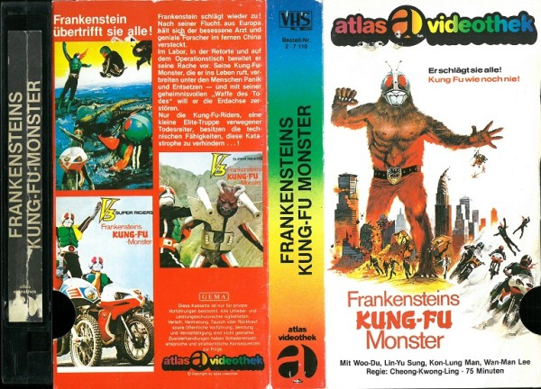 Frankensteins Kung-Fu Monster (Glasbox)