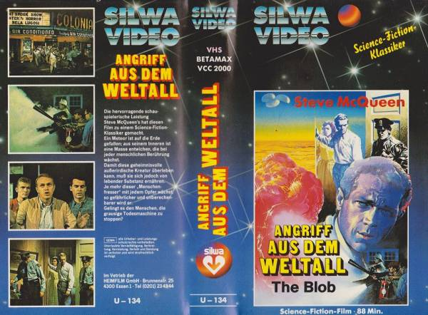 Angriff aus dem Weltall - The Blob (Silwa blau)