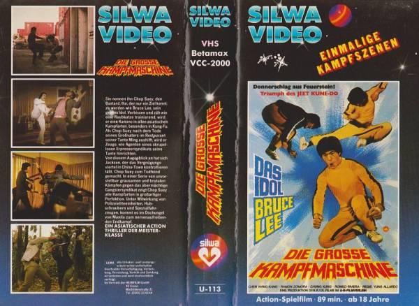 große Kampfmaschine, Die / Bruce Lee (Silwa blau)