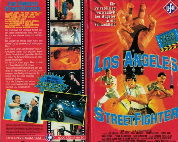 Los Angeles Streetfighter - Hartbox