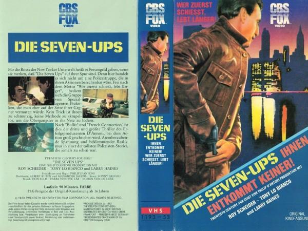 Seven-Ups, Die - Ihnen entkommt keiner (CBS klein)