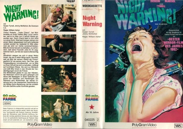 Night Warning - Mrs. Lynch