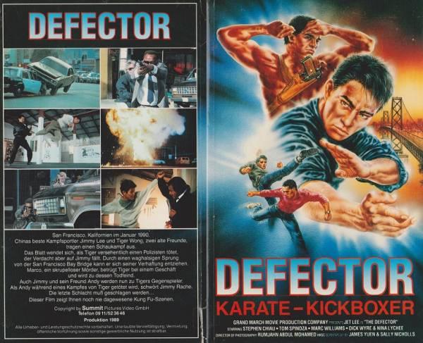 Defector - Karate-Kickboxer (Hartbox schwarz)