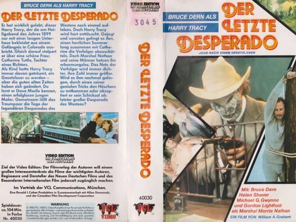Letzte Desperado, Der - Harry Tracy - Der letzte Desperado