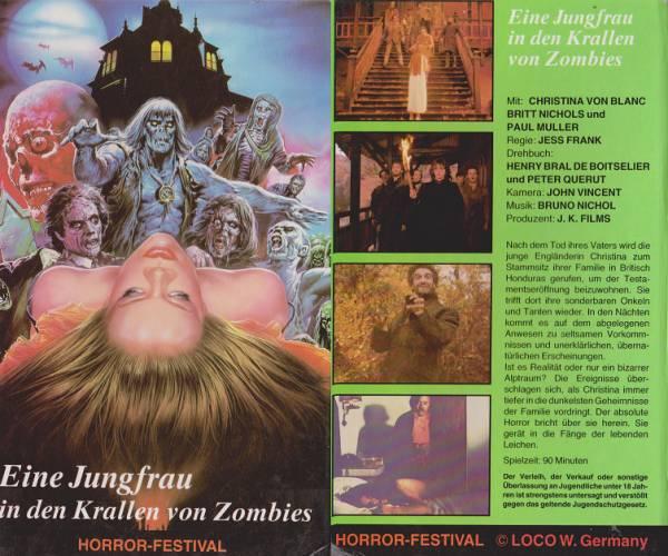 Jungfrau in den Krallen von Zombies, Eine