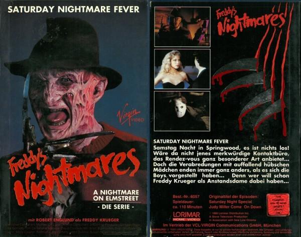Freddy's Nightmares (TV-Serie) - Saturday Nightmare Fever (Hartbox)
