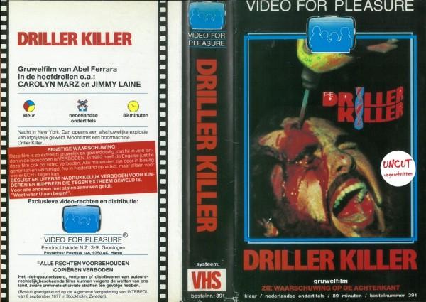 Driller Killer (Video for Pleasure NL Import) Neuauflage!
