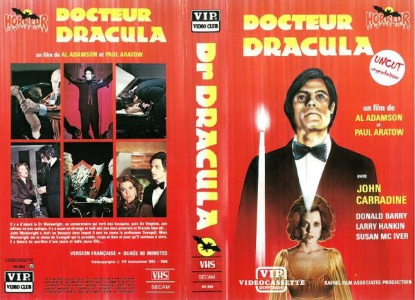 Docteur Dracula - Doctor Dracula (VIP Video Club F Import)