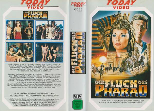 Fluch des Pharao, Der