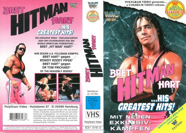 Bret Hitman Hart - his greatest hits (WWF Wrestling)