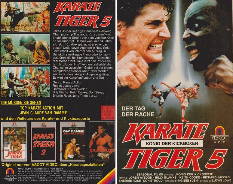 Karate Tiger 5 Stream