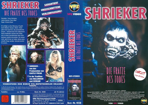 Shrieker - Fratze des Todes