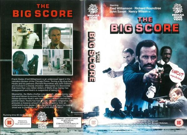 Big Score, The - Chicago Cop (Medusa Video UK Import)