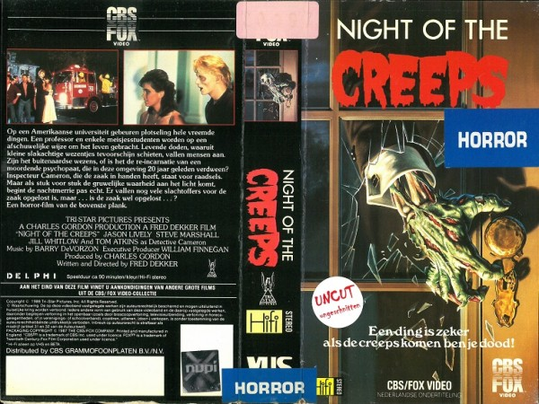 Night of the creeps - Die Nacht der Creeps (CBS Fox NL Import)