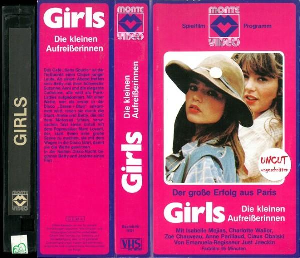 Girls - Die kleinen Aufreißerinnen (Glasbox)