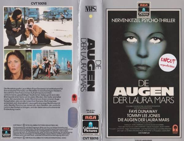 Augen der Laura Mars, Die (RCA grau)