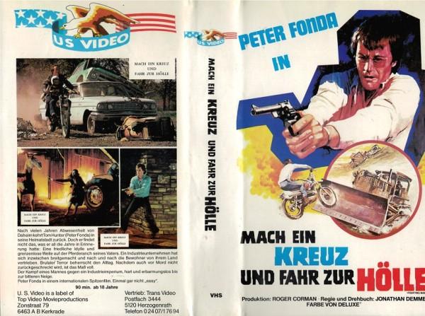 Mach ein Kreuz und fahr zur Hölle US Video VHS