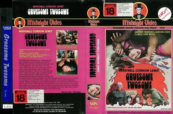 Gruesome Twosome - Herschell Gordon Lewis (USA Import)