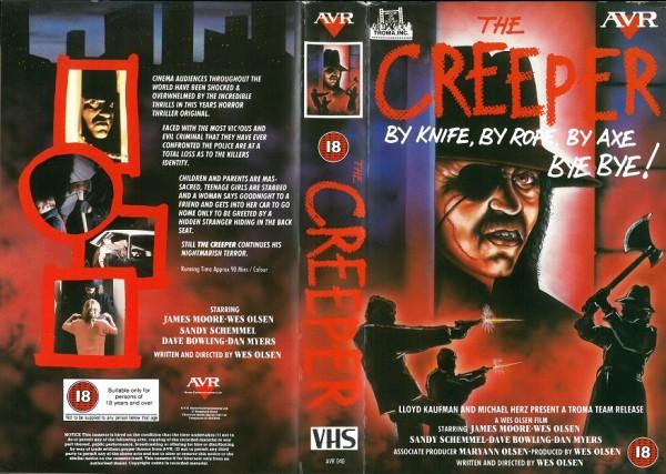 Creeper, The - Blood City - The Dark Side of Midnight (AVR Video UK Import)