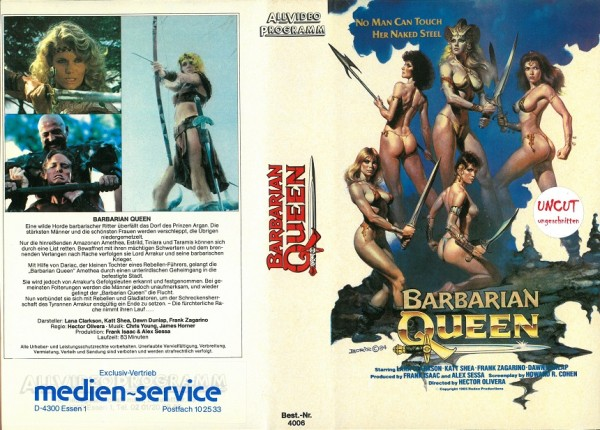 Barbarian Queen (unrated)