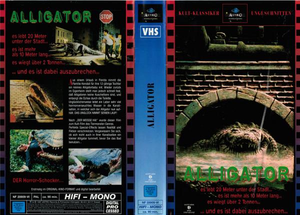 Alligator - Horror Alligator - Astro