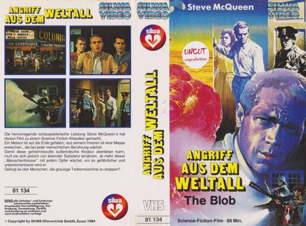 Angriff aus dem Weltall - The Blob (Silwa weiss)