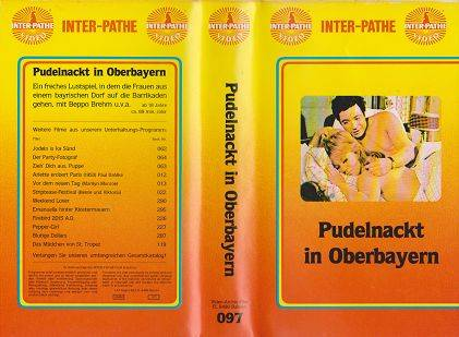 Pudelnackt in Oberbayern (inter pathe)
