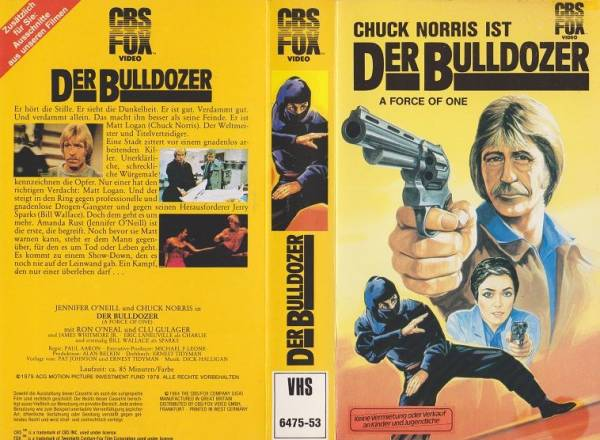 Bulldozer, Der - A Force Of One (CBS klein)