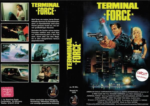 Terminal Force (AEG Video)
