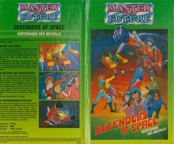 Master of the Future - Defenders of Space (Hartbox)