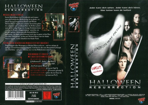 Halloween - Resurrection / Halloween 8