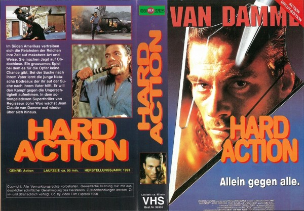 Harte Ziele - Hard Target UNRATED  (Videofilm Express)