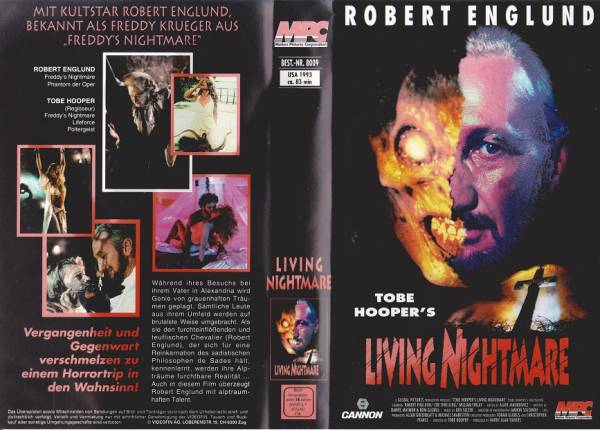 Tobe Hooper's Living Nightmare