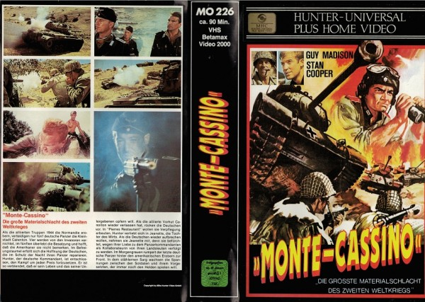 Monte Cassino - Panzerduell in der Normandie (MH schwarz)