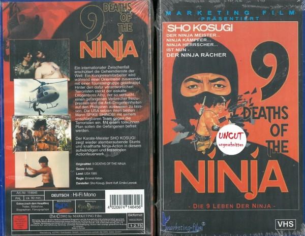 9 Leben der Ninja, Die (NEU, OVP)