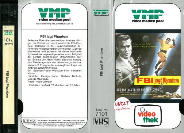 FBI jagt Phantom (VMP Glasboxcover)