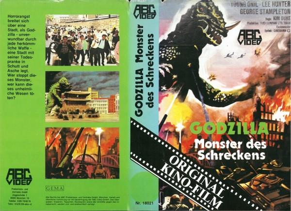 Godzilla - Monster des Schreckens (ABC Video)