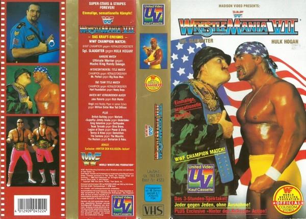 Wrestlemania VII (WWF Wrestling) (NA)