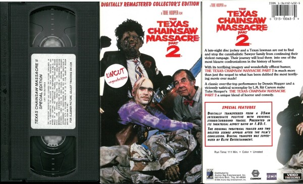 Texas Chainsaw Massacre 2, The (US Anchor Bay Pappschuber)