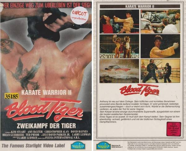 Blood Tiger - Karate Warrior 2 / Zweikampf der Tiger (Hartbox)