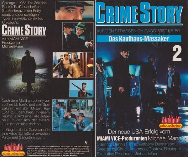 Crime Story Teil 2 - Das Kaufhaus-Massaker [TV-Serie] (Hartbox)