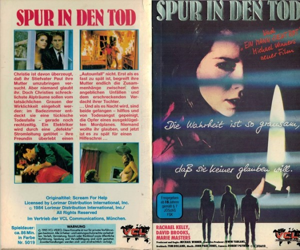 Spur in den Tod - Scream for help (Hartbox)