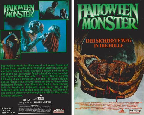 Halloween Monster, Das
