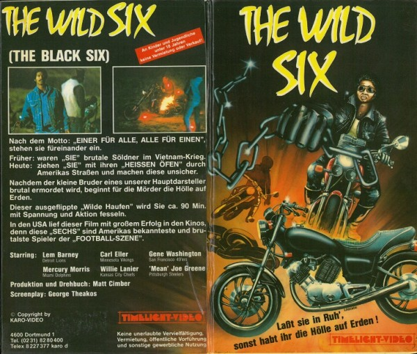 Wild Six, The - The Black Six (Timelight Hartbox)