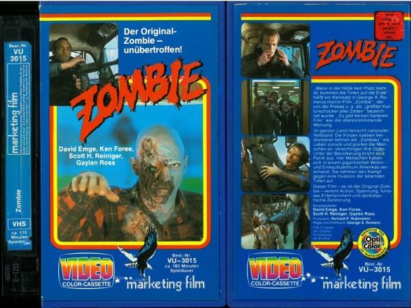 Zombie - Das Original - Dawn of the dead (Hartbox ohne FSK)