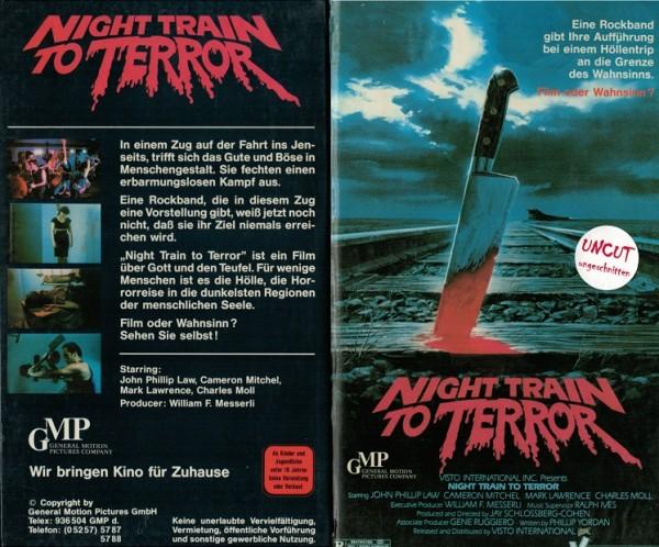 Night Train to Terror (Hartbox)