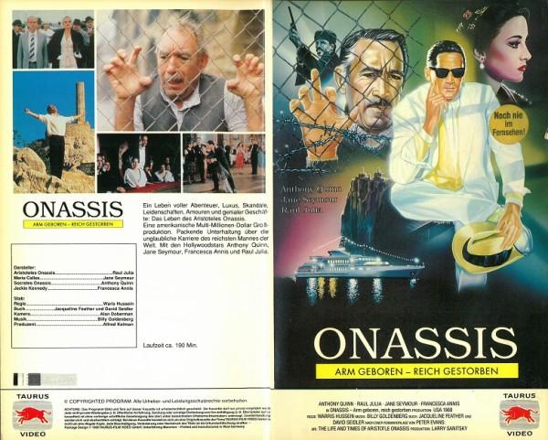 Onassis - Arm geboren, reich gestorben (Hartbox)