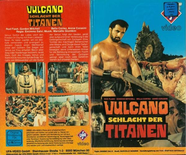 Vulcano - Schlacht der Titanen (Hartbox VK)