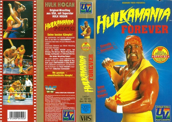Hulkamania Forever - United Video (WWF Wrestling)